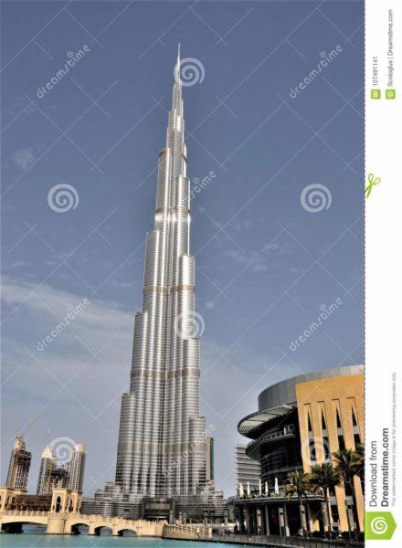 Burj khalifa, at the top, dubai,