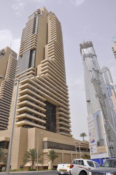 skyscrapers, dubai,