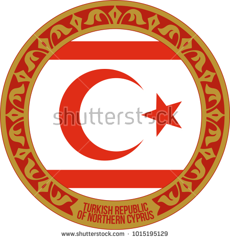 northern cyprus, cyprus, symbol, icon, background, illustration, white, flag, isolated, national, turkey, vector, sign, design, red, graphic, star, country, turkish, state, emblem, crescent, color, travel, texture, circle, nation, kktc,