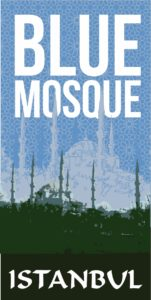 Blue, Mosque,