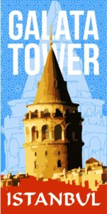 Galata, tower, kule