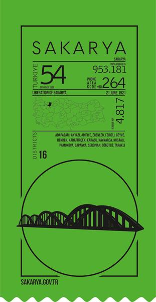 sakarya, ticket, infografik,