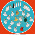 stock-vector-dervish-symbolic-study-of-mevlevi-mystical-dance-the-mevlevi-dervishes-would-return-by-making-a-1056778703