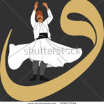 stock-vector-dervish-symbolic-study-of-mevlevi-mystical-dance-the-mevlevi-dervishes-would-return-by-making-a-1058172794