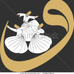 stock-vector-dervish-symbolic-study-of-mevlevi-mystical-dance-the-mevlevi-dervishes-would-return-by-making-a-1058172812