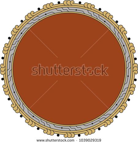 geometric, ottoman, osmanlı, çerçeve, frame, motif, daire, tabak, mevlevi, desen,