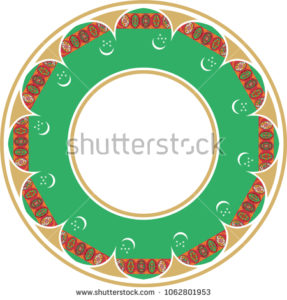 stock-vector-the-turkmen-statue-and-the-green-ground-on-the-left-side-of-turkmenistan-s-flag-symbolize-turkmen-1062801953