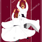 stock-vector-dervish-symbolic-study-of-mevlevi-mystical-dance-this-painting-represents-a-movement-of-this-1095341447