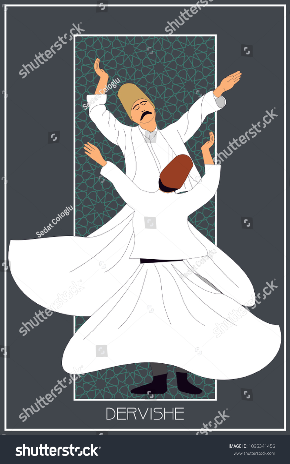 stock-vector-dervish-symbolic-study-of-mevlevi-mystical-dance-this-painting-represents-a-movement-of-this-1095341456