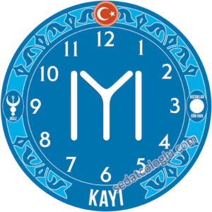 ClockFlag_07 KAYI