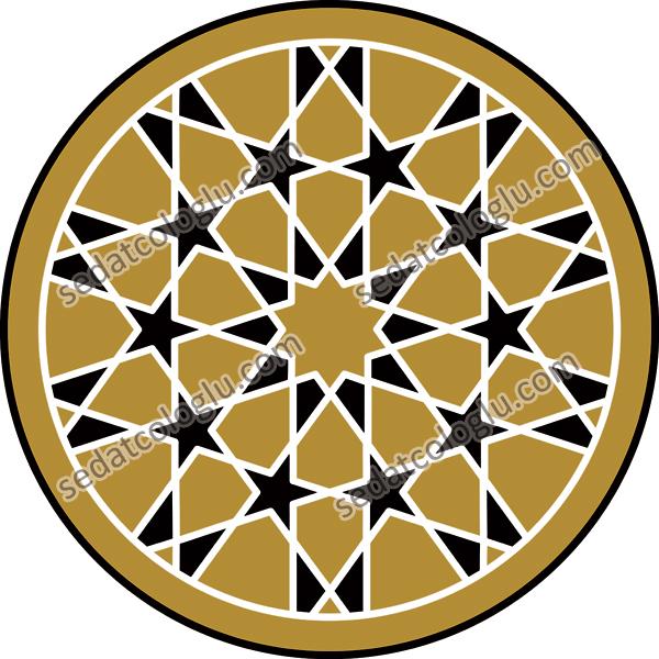 Motifgeo_109_hexagonal10starscircle