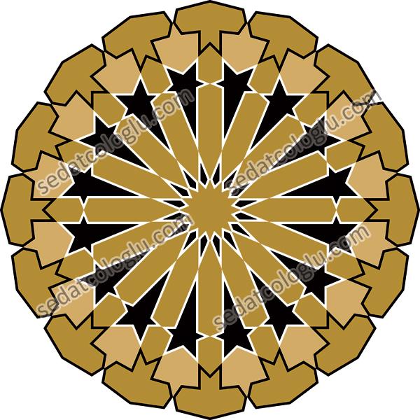 Motifgeo_113_hexadecimalstarcircle
