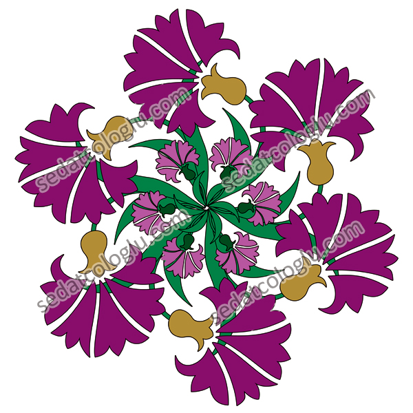 Motifgeo_132_Carnations