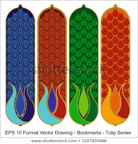 vector-set-ornate-vertical-bookmark-450w-1207935088