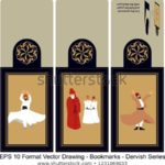 vector-set-ornate-vertical-bookmark-450w-1231069033