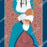 stock-vector-mevlana-and-dervish-eps-format-vector-drawing-symbolic-study-of-mevlevi-mystical-dance-it-can-1255768330