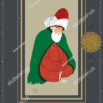 stock-vector-vector-hand-drawn-mevlana-poster-it-can-be-used-as-wall-decoration-table-gift-card-book-1238799547