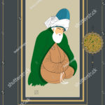 stock-vector-vector-hand-drawn-mevlana-poster-it-can-be-used-as-wall-decoration-table-gift-card-book-1243694602