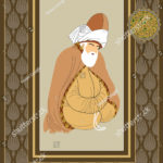 stock-vector-vector-hand-drawn-mevlana-poster-it-can-be-used-as-wall-decoration-table-gift-card-book-1243722811