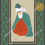 stock-vector-vector-hand-drawn-mevlana-poster-it-can-be-used-as-wall-decoration-table-gift-card-book-1243722817