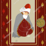 stock-vector-vector-hand-drawn-mevlana-poster-it-can-be-used-as-wall-decoration-table-gift-card-book-1243722820