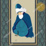 stock-vector-vector-hand-drawn-mevlana-poster-it-can-be-used-as-wall-decoration-table-gift-card-book-1243722826