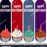 stock-vector-vector-set-of-ornate-vertical-bookmark-cards-in-birthday-style-vector-drawing-birthday-party-1220142259
