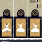 stock-vector-vector-set-of-ornate-vertical-bookmark-cards-in-dervish-style-it-can-be-used-as-wall-board-banner-1231069009