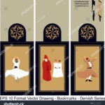 stock-vector-vector-set-of-ornate-vertical-bookmark-cards-in-dervish-style-it-can-be-used-as-wall-board-banner-1231069033
