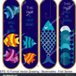 stock-vector-vector-set-of-ornate-vertical-bookmark-cards-in-fish-style-it-can-be-used-as-wall-board-banner-1220142175