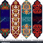 stock-vector-vector-set-of-ornate-vertical-bookmark-cards-in-oriental-style-it-can-be-used-as-wall-board-1223602684