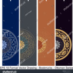 stock-vector-vector-set-of-ornate-vertical-bookmark-cards-in-ottoman-style-it-can-be-used-as-wall-board-banner-1220142220