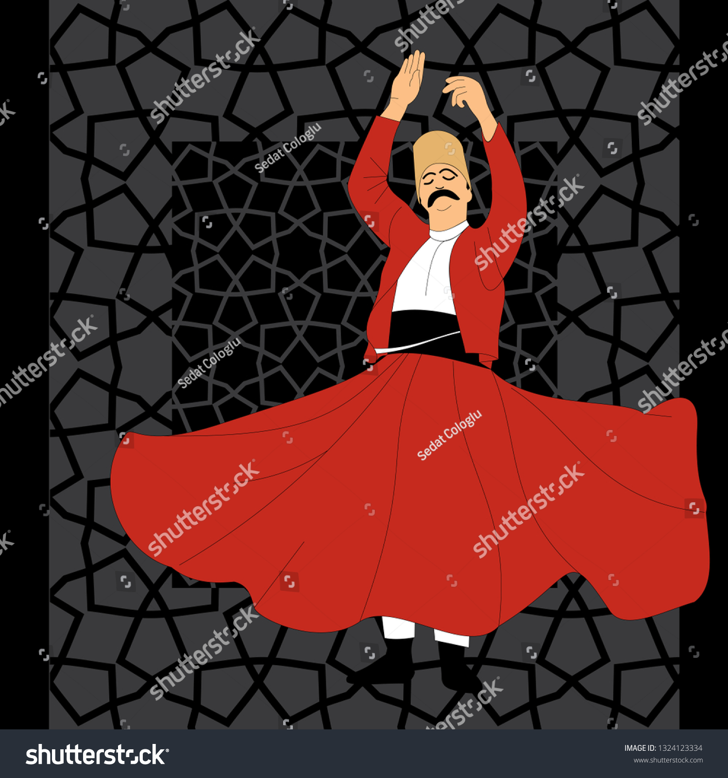 stock-vector-dervish-symbolic-study-of-mevlevi-mystical-dance-this-painting-represents-a-movement-of-this-1324123334