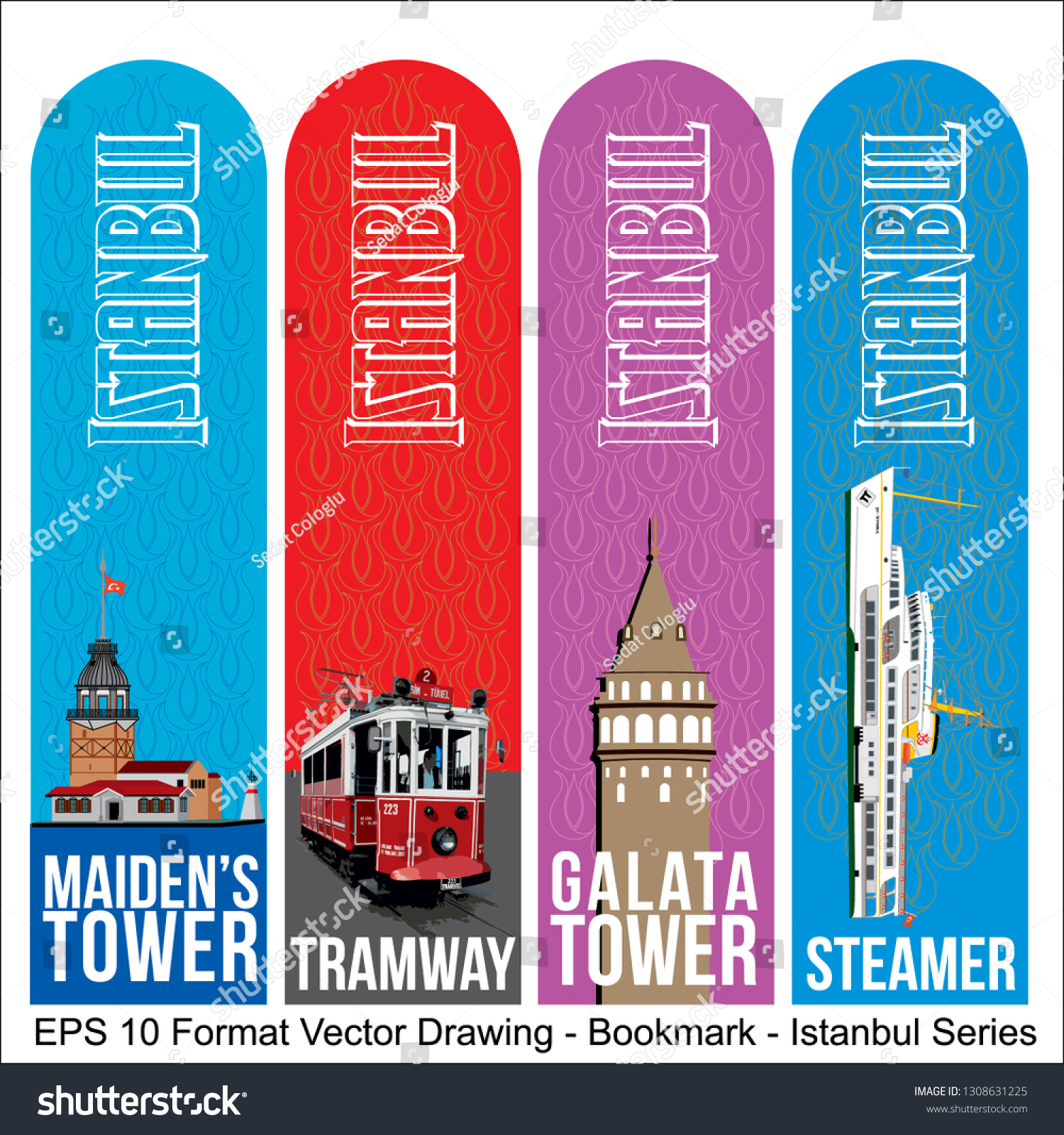stock-vector-vector-set-of-ornate-vertical-bookmark-cards-in-istanbul-style-it-can-be-used-as-wall-board-1308631225