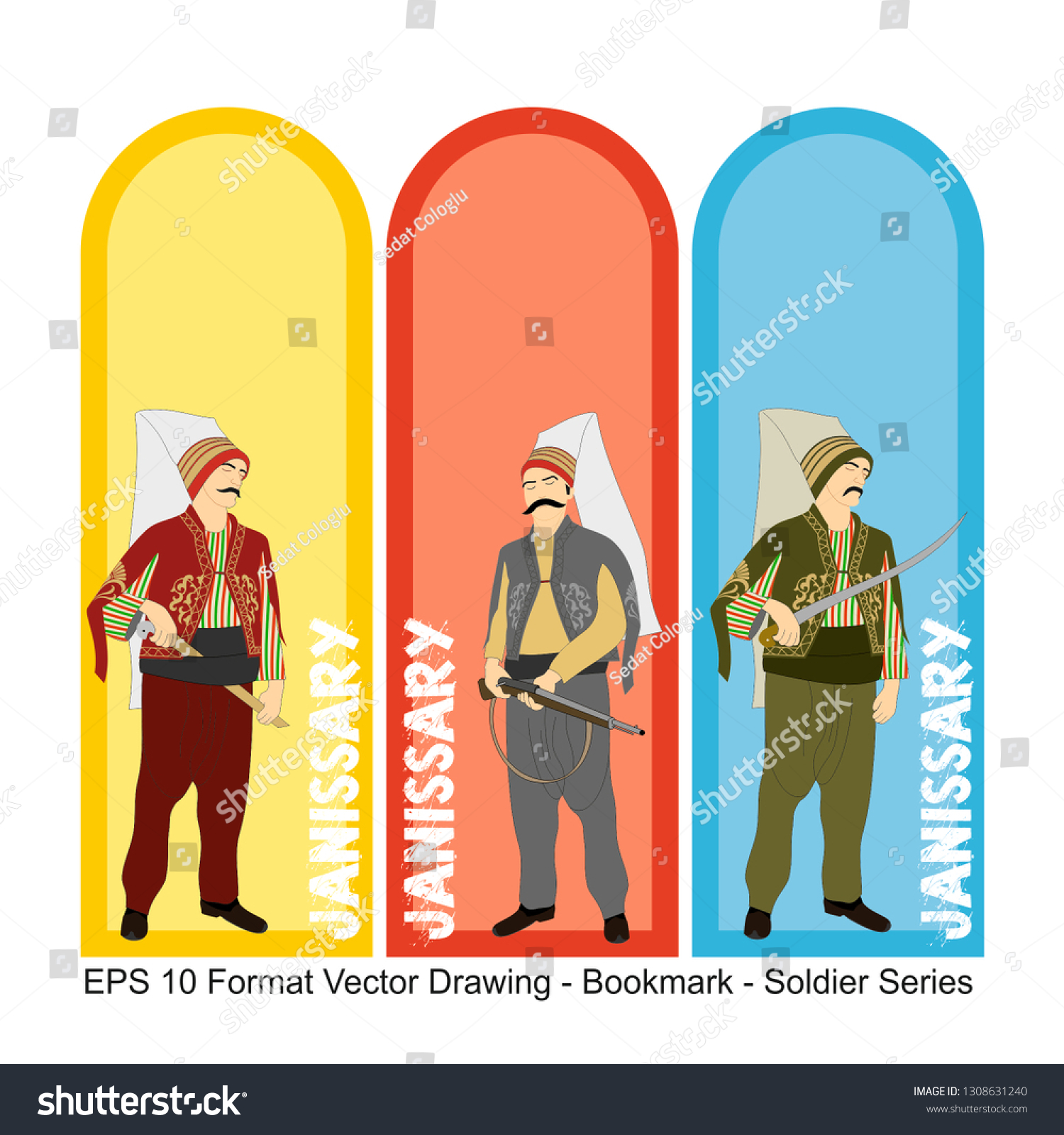 stock-vector-vector-set-of-ornate-vertical-bookmark-cards-in-ottoman-army-style-it-can-be-used-as-wall-board-1308631240