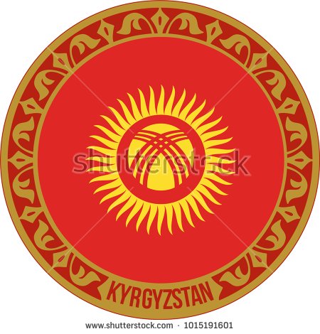 turkish, symbol, flag, icon, kyrgyzstan, sign, country, national, illustration, isolated, design, circle, button, white, nation, background, banner, emblem, travel, asia, graphic, vector, world, round, state, badge, Kırgızistan,
