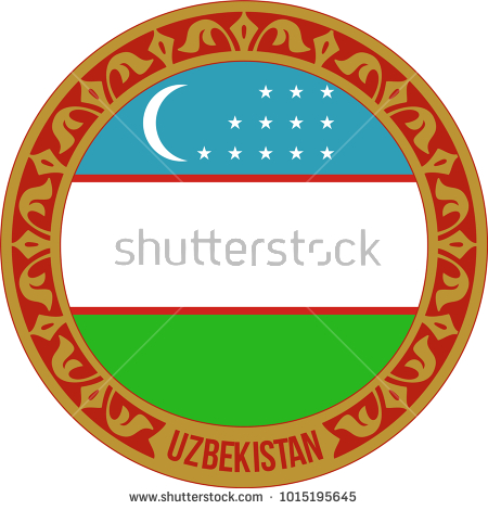 Özbekistan, turkish, uzbekistan flag, uzbekistan, stamp, sign, symbol, illustration, icon, red, tag, isolated, vector, design, label, grunge, ink, rubber, print, mark, graphic, vintage, background, insignia, aged, paper, round, badge