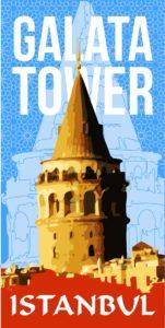 Galata, tower, kule