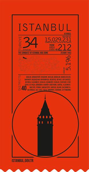 istanbul, infografik, red, ticket,