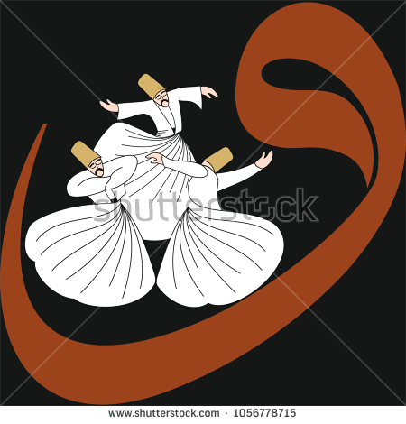 stock-vector-dervish-symbolic-study-of-mevlevi-mystical-dance-the-mevlevi-dervishes-would-return-by-making-a-1056778715