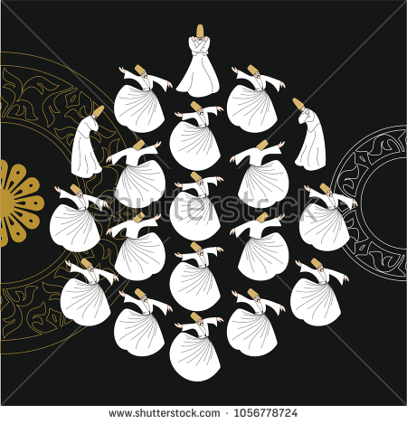 stock-vector-dervish-symbolic-study-of-mevlevi-mystical-dance-the-mevlevi-dervishes-would-return-by-making-a-1056778724