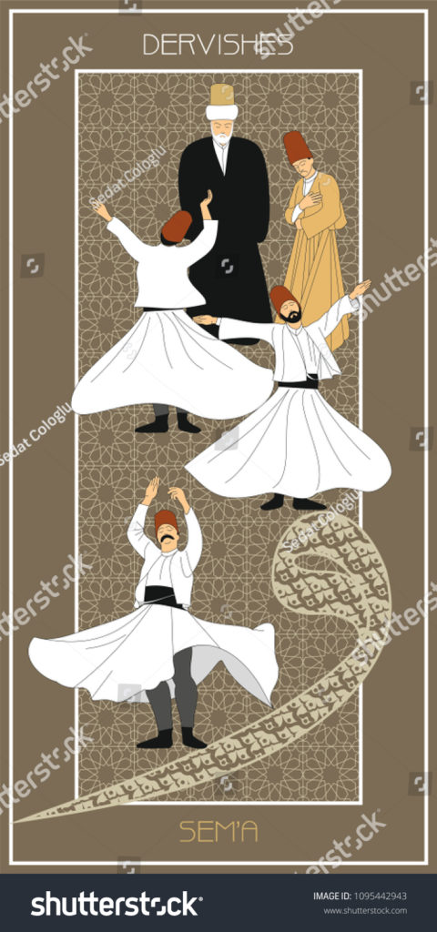 stock-vector-sema-is-a-ritual-of-mevlevi-belief-mevlevihane-mevlevi-house-is-where-these-ceremonies-took-1095442943