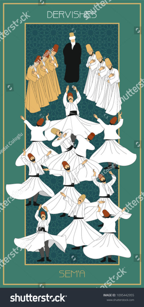 stock-vector-sema-is-a-ritual-of-mevlevi-belief-mevlevihane-mevlevi-house-is-where-these-ceremonies-took-1095442955
