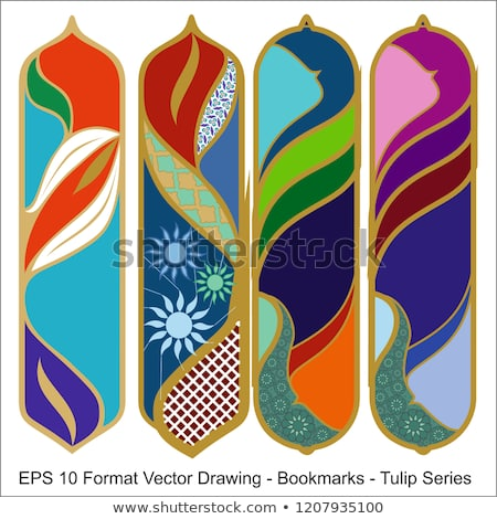 vector-set-ornate-vertical-bookmark-450w-1207935100
