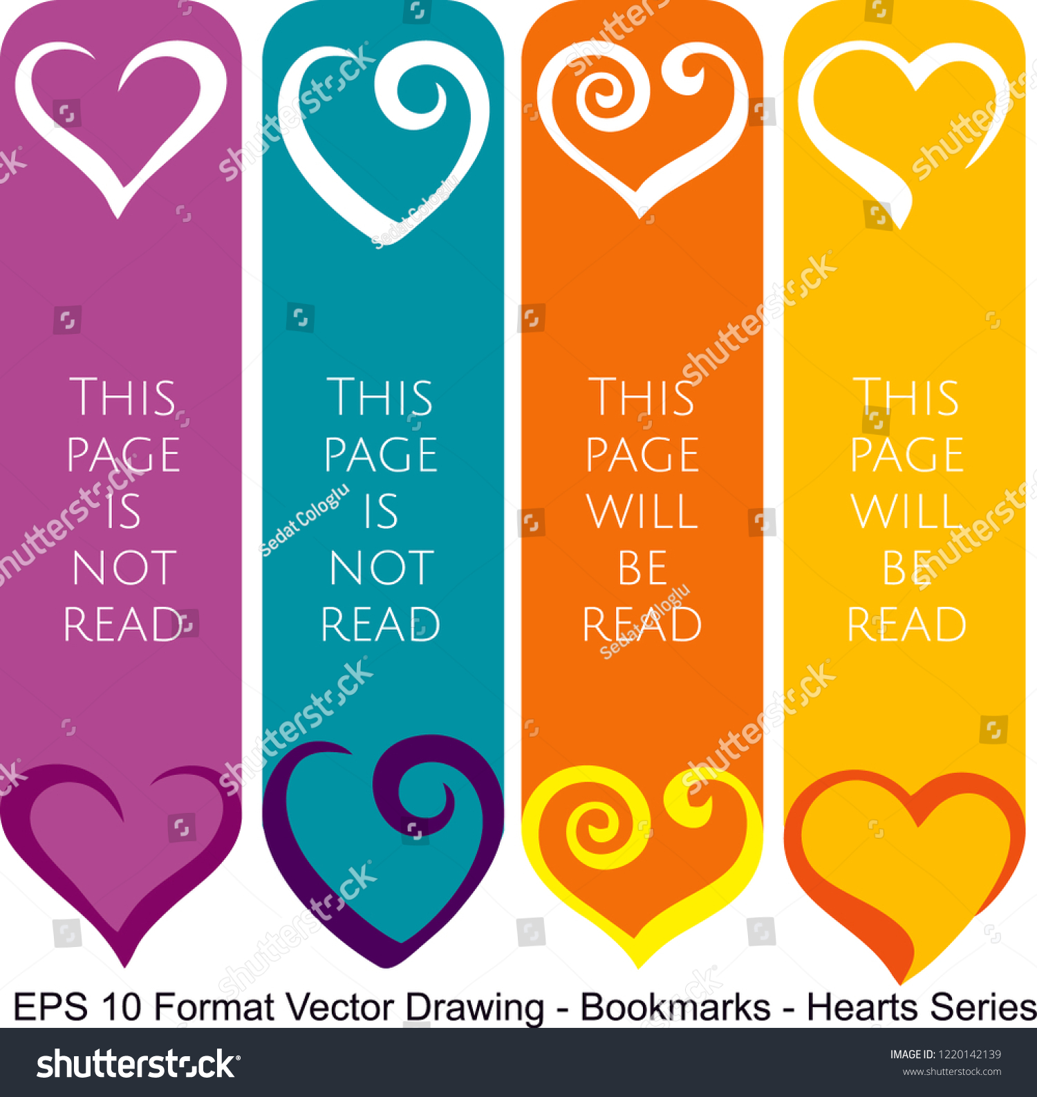 stock-vector-vector-set-of-ornate-vertical-bookmark-cards-in-heart-style-it-can-be-used-as-wall-board-banner-1220142139